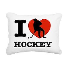 fieldhockey Rectangular Canvas Pillow