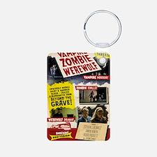 Vampire Zombie Werewolf Vi Aluminum Photo Keychain