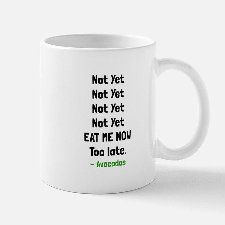 Eat Avocados Mugs