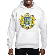 escudo_nacional_de_ucrania_6x6 Hoodie