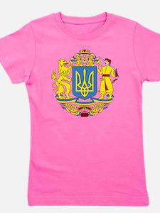 escudo_nacional_de_ucrania_6x6 Girl's Tee