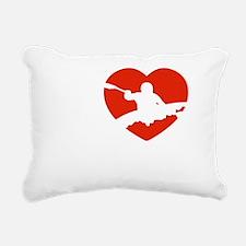 kayaking1 Rectangular Canvas Pillow
