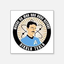 "teslatrek1 Square Sticker 3"" x 3"""