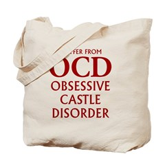 ocd4 clear red Tote Bag