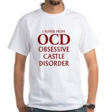 ocd4 clear red White T-Shirt