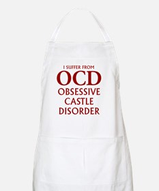 ocd4 clear red Apron