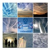 Chemtrails Square Car Magnets