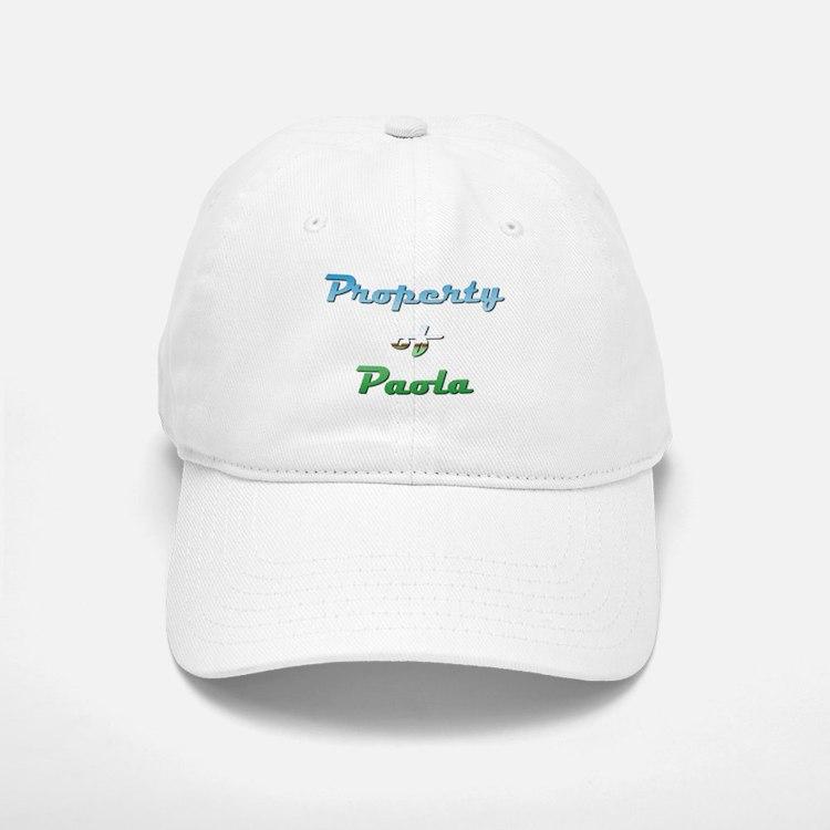 Property Of Paola Female Baseball Baseball Baseball Cap