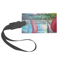 sailboats Luggage Tag