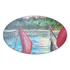 sailboats Decal