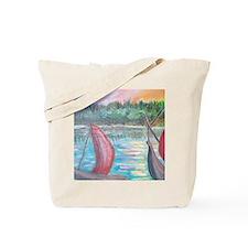 sailboats Tote Bag
