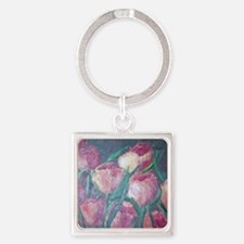 tulips Square Keychain