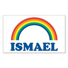 ISMAEL (rainbow) Rectangle Decal