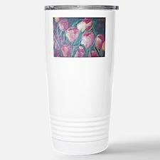 tulips Stainless Steel Travel Mug