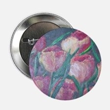 """tulips 2.25"""" Button"""