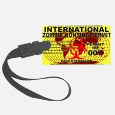 InternationalZOMBIE5x3rect_stick Luggage Tag