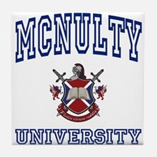 MCNULTY University Tile Coaster