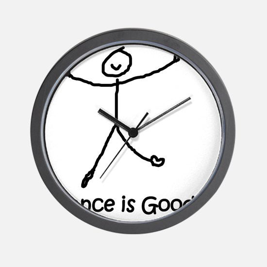 dance is good large copy copy Wall Clock
