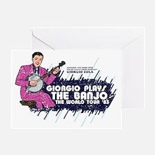 banjo01distressed Greeting Card