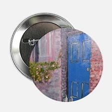 "Blue Door 2.25"" Button"