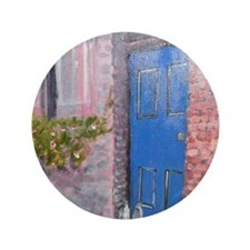 "Blue Door 3.5"" Button"