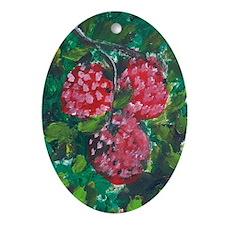 Fruit Oval Ornament