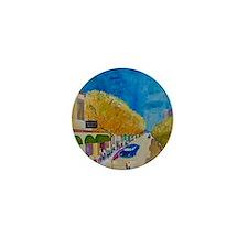 Sausalito Sunday long sleeve womans Mini Button