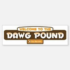 DPLikeBrowns Sticker (Bumper)