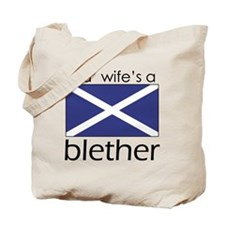 Wifes A Blether Tote Bag