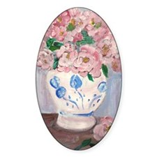 Pink Flowers Decal