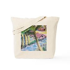 Tropical Scene Tote Bag