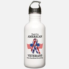 American Veterans 3 Water Bottle