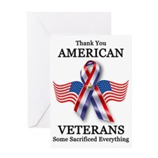 American Veterans 3 Greeting Card