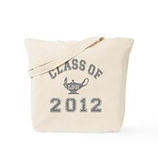 CO2012 LPN Gray Distressed Tote Bag