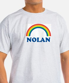 NOLAN (rainbow) Ash Grey T-Shirt