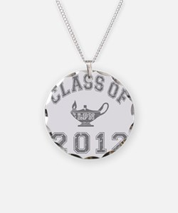 CO2012 LPN Gray Distressed Necklace