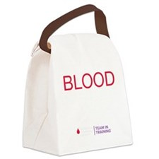 blood.sweat_REV Canvas Lunch Bag