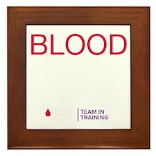blood.sweat_REV Framed Tile