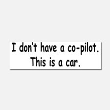 nocpoilot Car Magnet 10 x 3