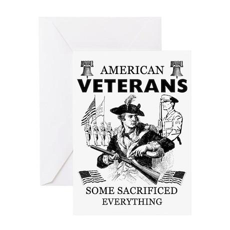 American Veterans Greeting Card