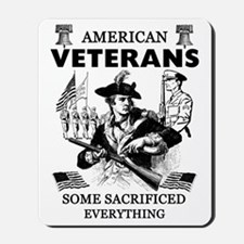 American Veterans Mousepad