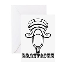 Lacrosse_BroStach Greeting Card