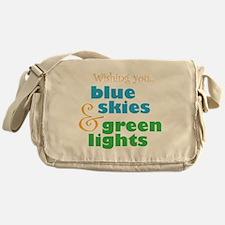 The Skydivers Wish Messenger Bag
