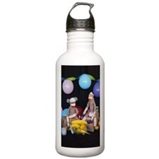The Birthday Party - Sock Monkey Water Bottle