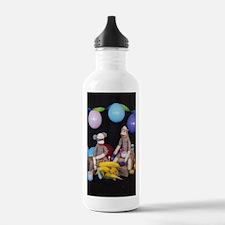 The Birthday Party - Sock Monkey Water Bottle
