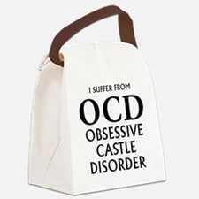 ocd3 clear Canvas Lunch Bag