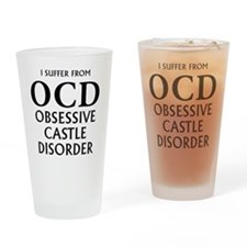 ocd3 clear Drinking Glass