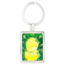 Lemon Portrait Keychain
