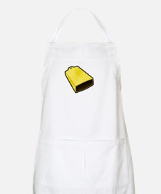 More Cowbell White Apron