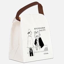 4256_beethoven_cartoon Canvas Lunch Bag